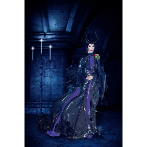 Verena Colors Poster Maleficent
