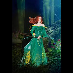 Verena Colors Poster Merida