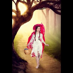 Verena Colors Poster Rotkäppchen