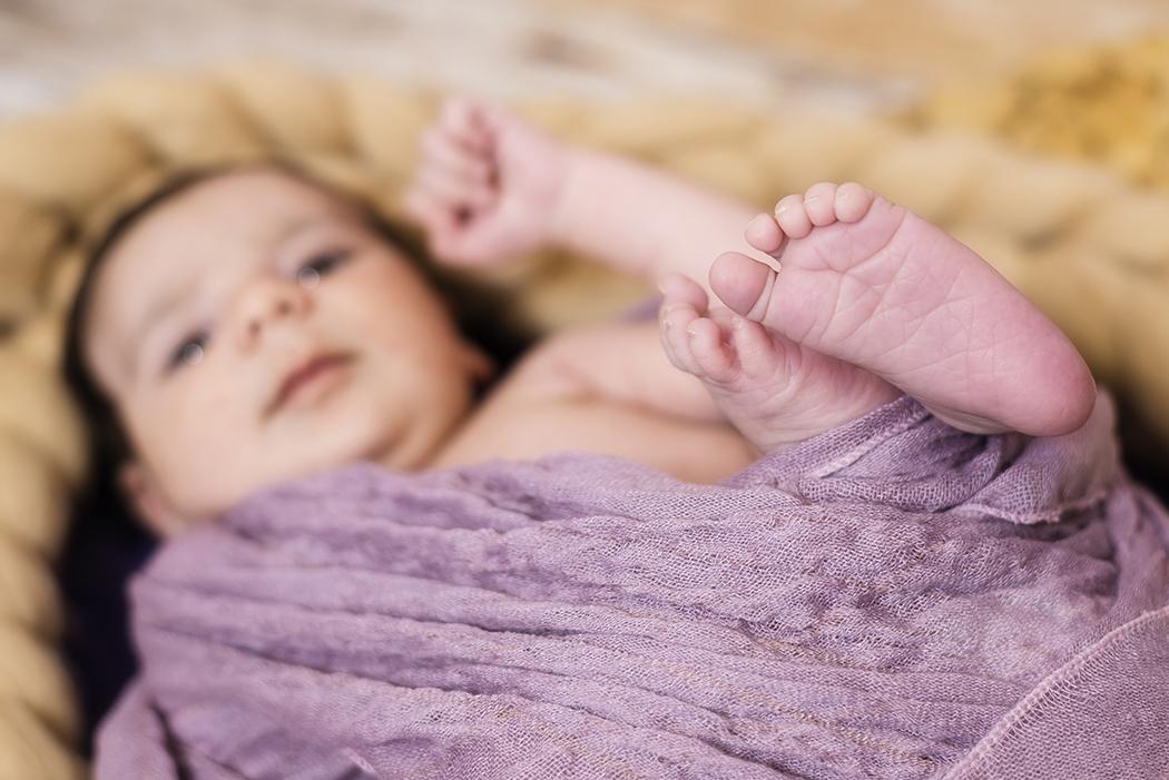 Babyfotoshooting im Oktober