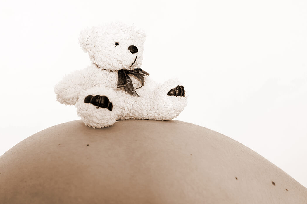 Schwangerschaftsshooting mit Hund