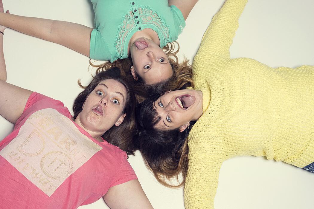 Drei Freundinnen