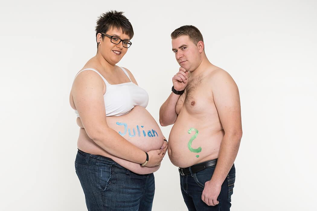 Erste Schwangerschaft