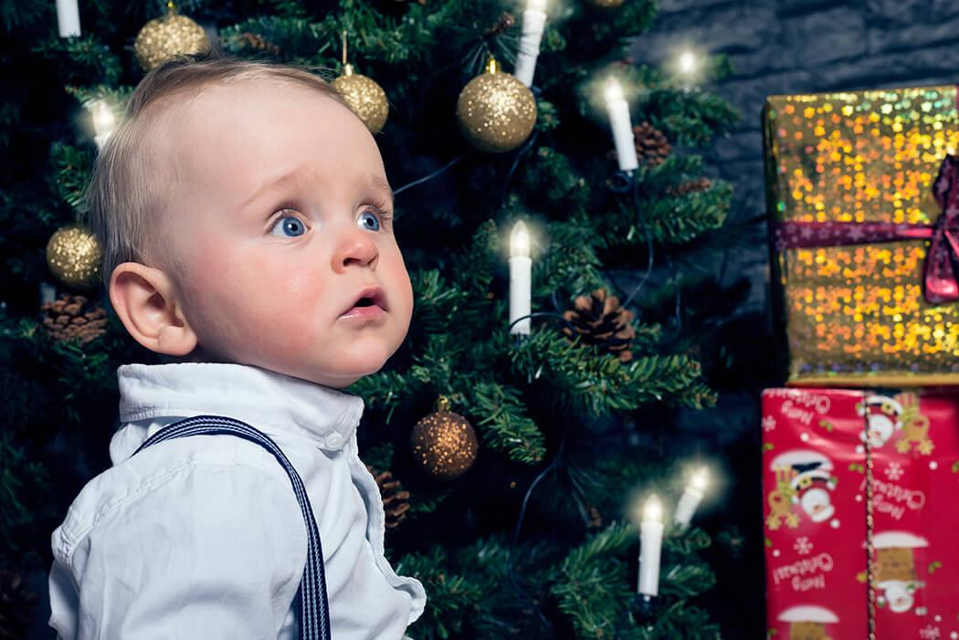 Familienshooting zu Weihnachten