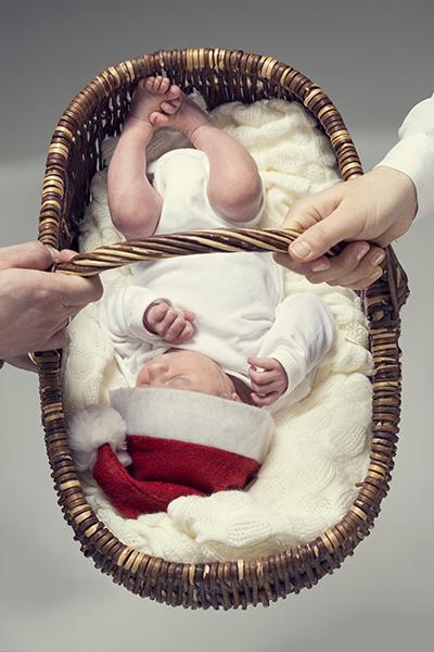 Babyshooting mit großen Augen