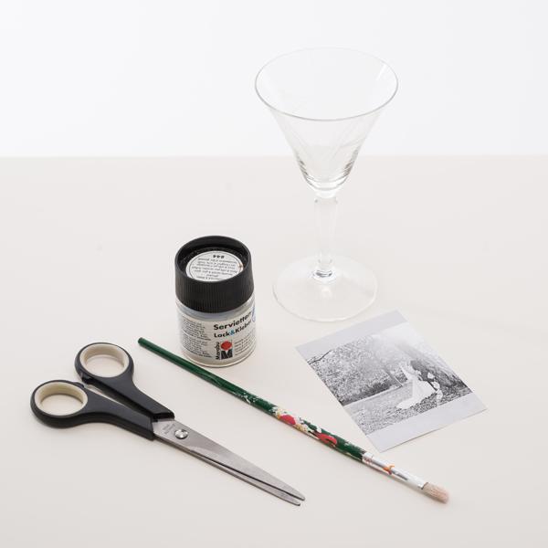 Zutaten Sektglas