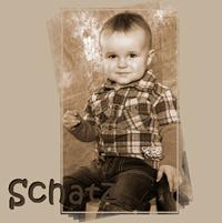 Produkte Beispiel eines Fotobuch mit Kinderbildern