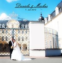 Produkte Beispiel eines Fotobuch mit Hochzeitsbildern