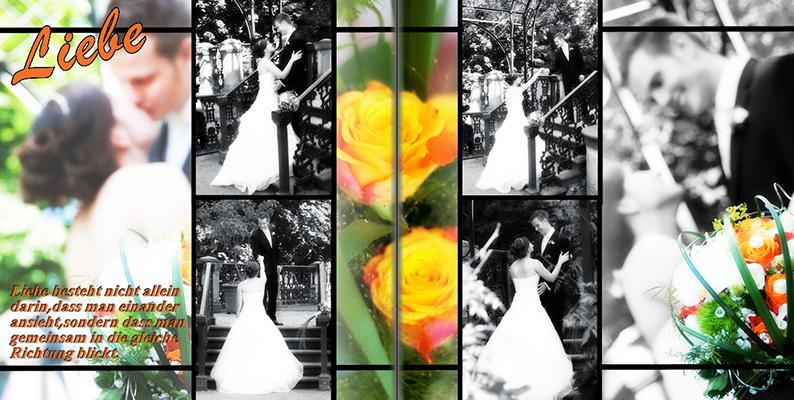 Edles Taschenbuch Hochzeit